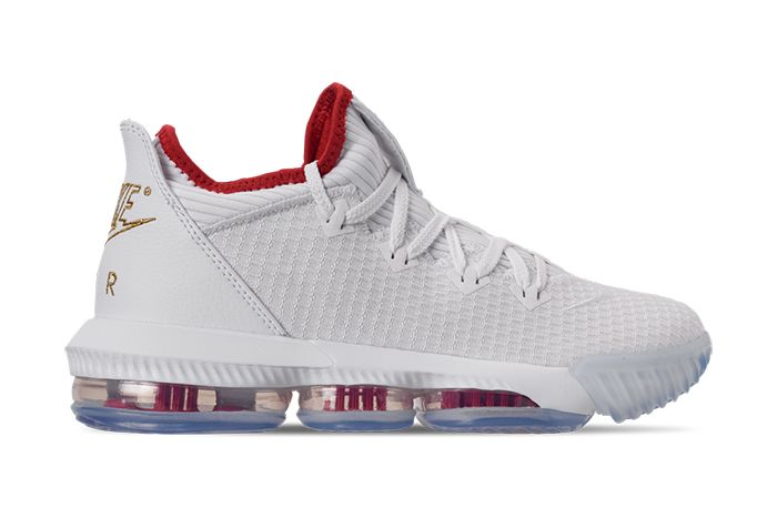 Nike Lebron 16 Low Draft Night Ci2668 100 Release Date Lateral