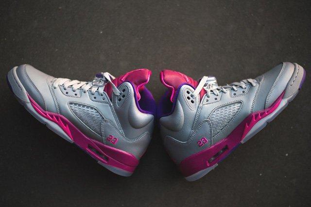 Air Jordan 5 Cement Raspberry 5