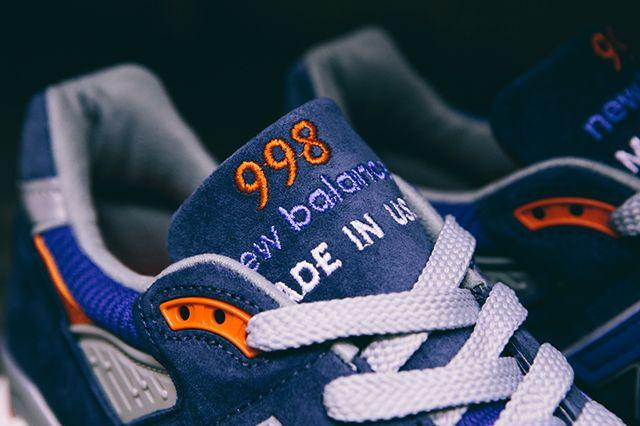 New Balance 998 Cobalt Blueorange7