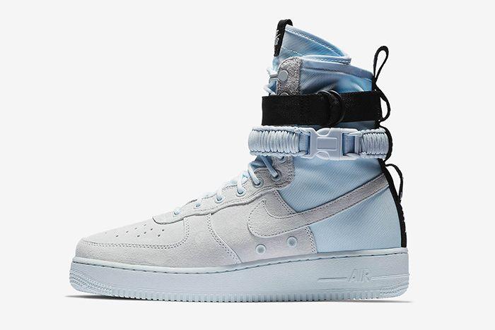 Nike Sf Af 1 Hi Blue Tint 1