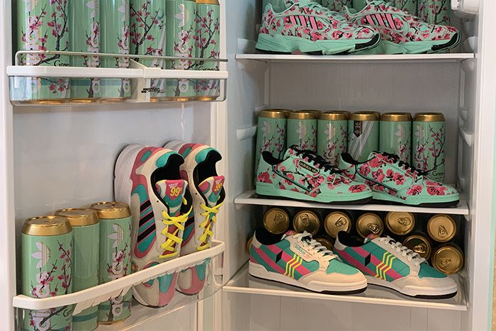Arizona Iced Tea Adidas Continental 80 Yung 1 Release Date Hero