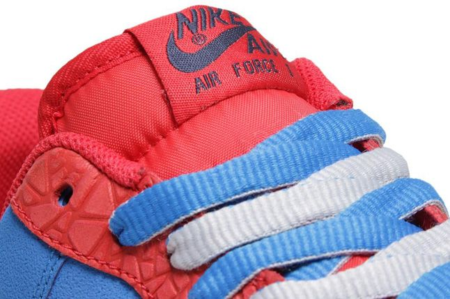 Nike Air Force 1 Le Godzilla Pack Red Blue Tongue 1