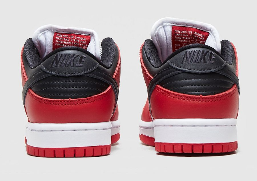 Nike SB Dunk Low Chicago Heel