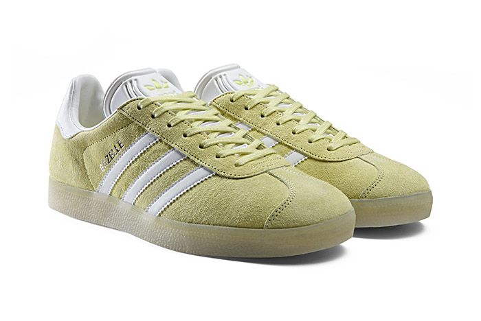 Adidas Gazelle Leather Iced Pack Iced Yellow 1