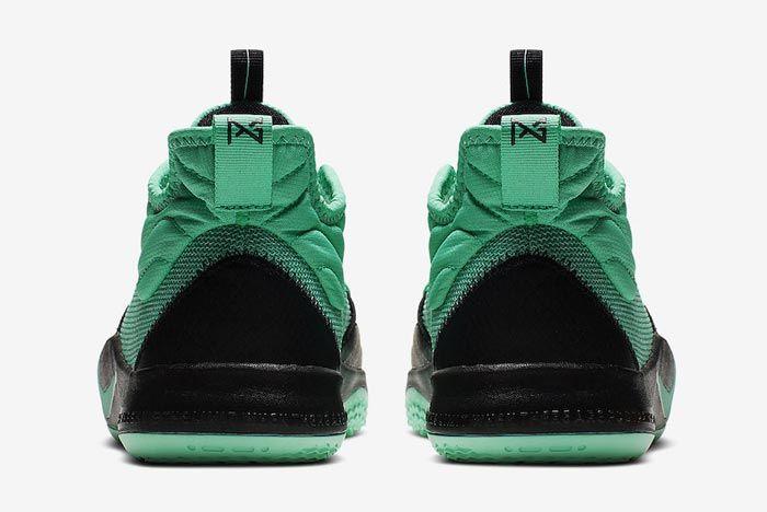 Nike Pg3 Menta Green Heels