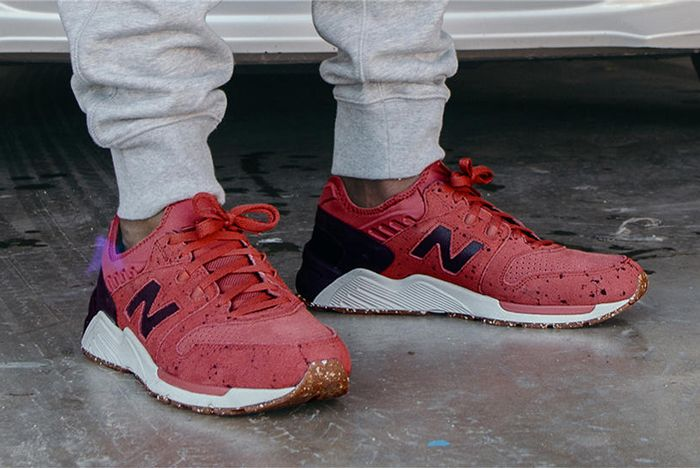 New Balance 009 Speckle Suede6