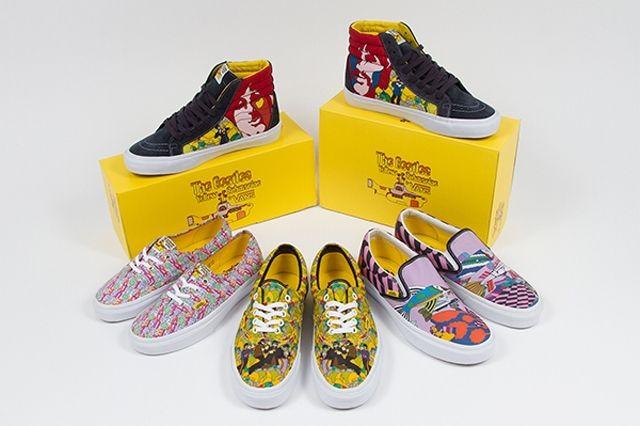 Vans Beatles Yellow Submarine 2