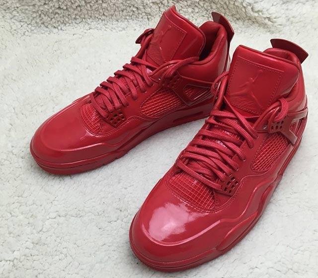 Air Jordan 4 Lab 11 Red 3