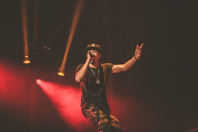 Eminem The Rapture J Cole Melbourne 23