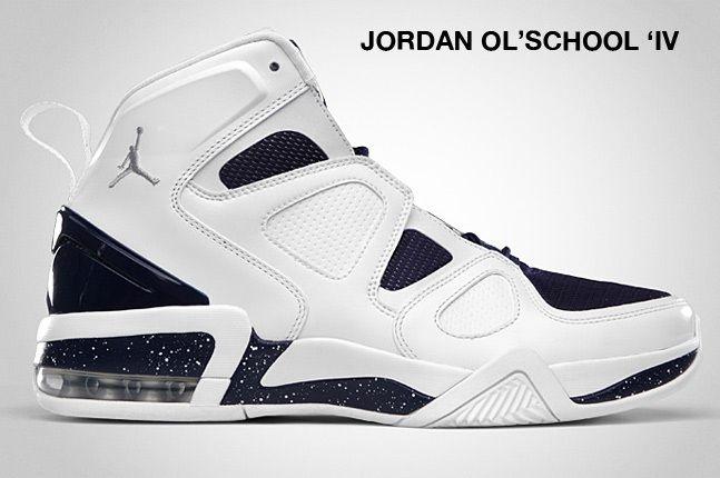 Jordan Ol School Iv Navy 1