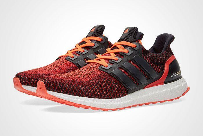 Adidas Ultra Boost M Black Red Thumb