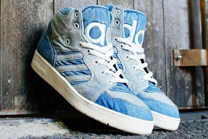 Adidas Jeremy Scott Instinct Hi Denim