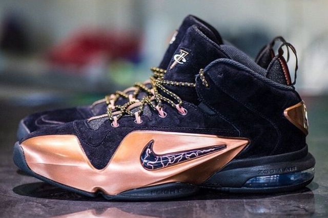 Nike Air Penny 6 Copper 2