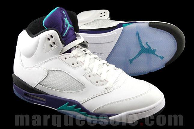 Jordan V Grape 2013 Pair 1