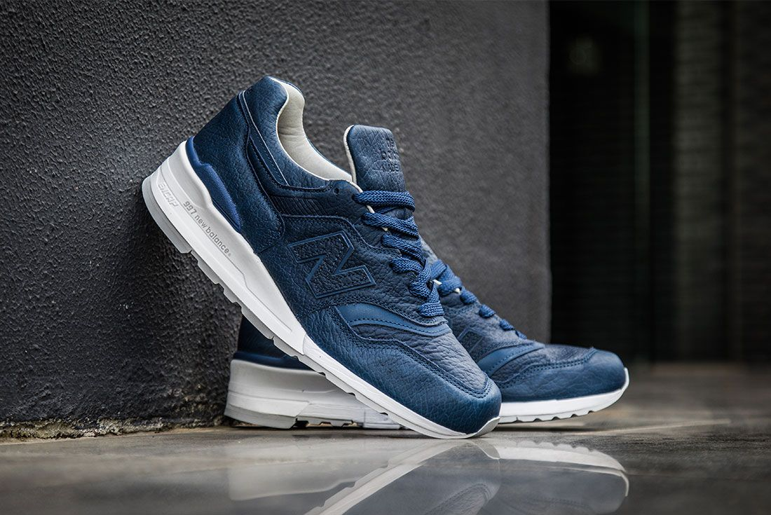 New Balance 997 Bison Pack Navy 2