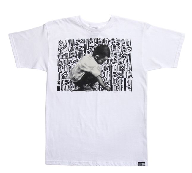 Fy58509 T Young Scribe Wht Tee 1