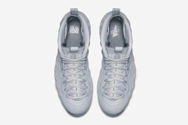 Nike Air Foamposite 1 Grey Suede 2