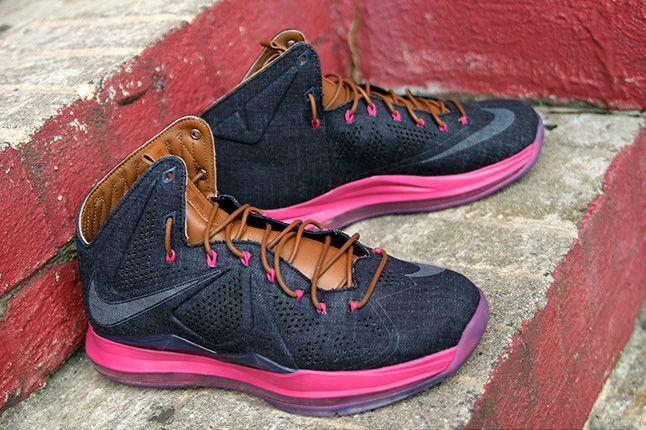 Nike Lebron X Ext Qs Denim 4 1