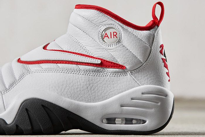 Nike Air Shake Ndestrukt Retro White Red 3