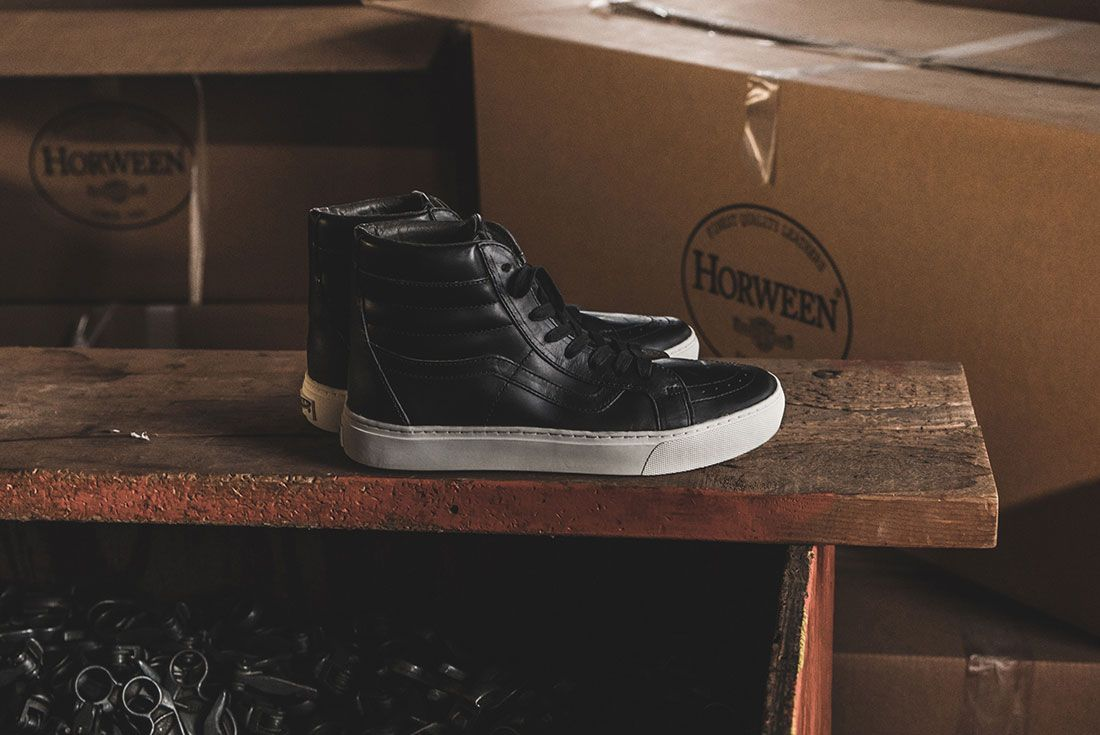 Horween Leather X Vans Vault Collection 3