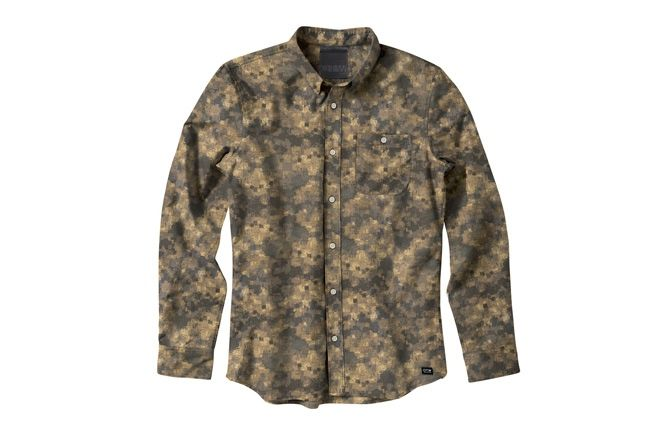 Vans Otw Hyperstealth Camo Pack Button Down Shirt 1