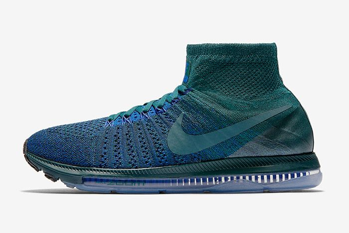 Nike Zoom All Out Flyknit Atomic Teal Blue 4