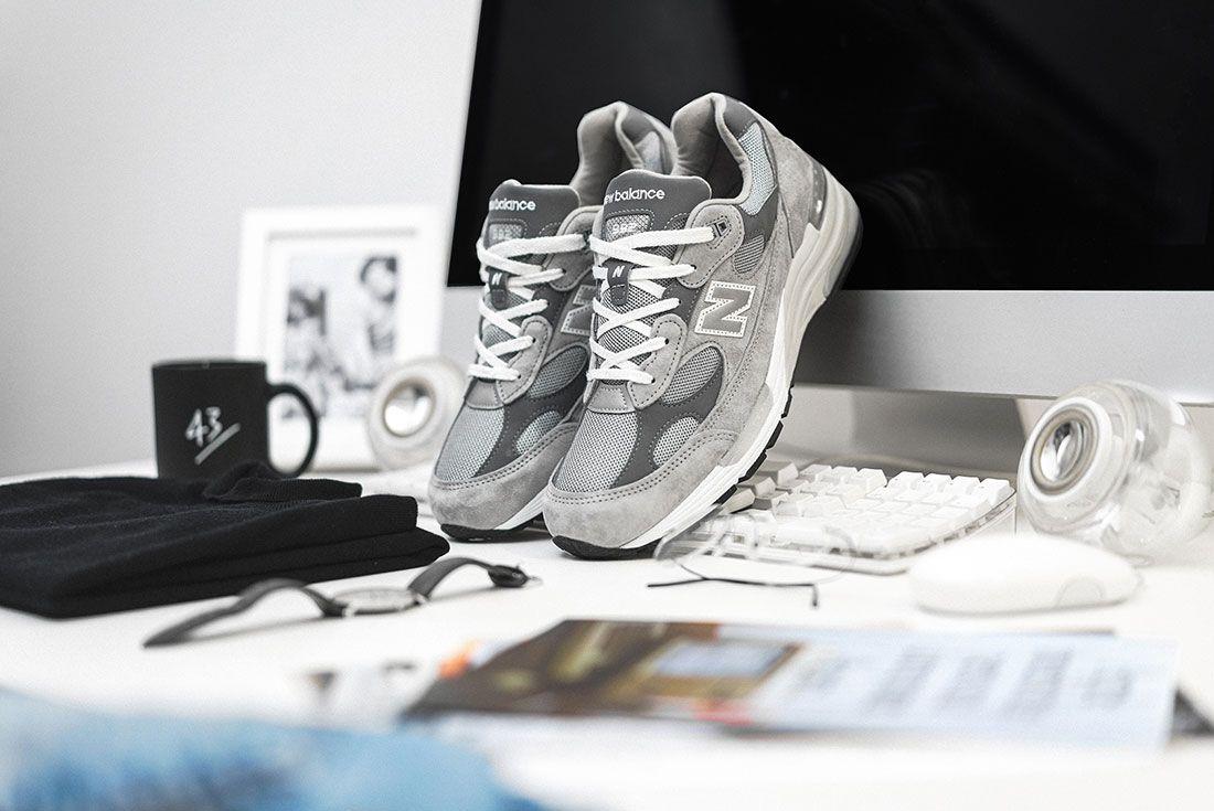 New Balance 992 Grey 43Einhalb Apple 2