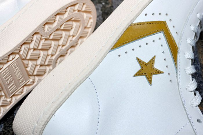 Converse Pro Leather White Gold 1