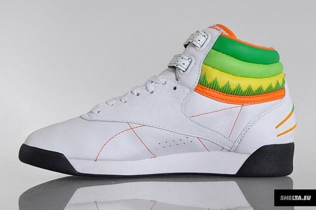 Reebok Freestyle Hi Sushi International 2 1