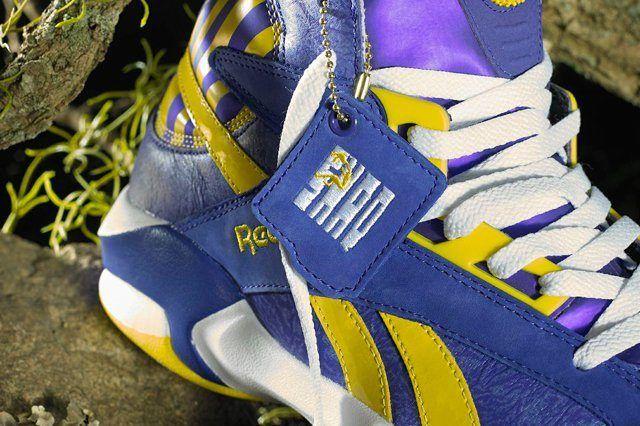 Reebok Classic Shaq Attaq Lakers 4