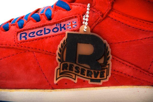 Reebok Freestyle High Vintage Red Details 1