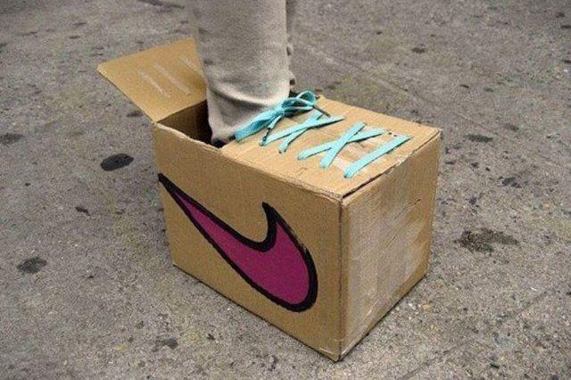 Big Stupid Nike Box