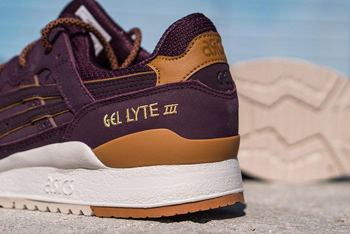 cocaína cocina Corta vida  ASICS GEL-Lyte III (Rioja Red) - Sneaker Freaker