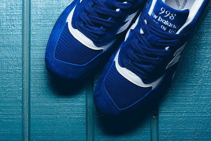 New Balance 998 Made In Usa Royal Blue 1