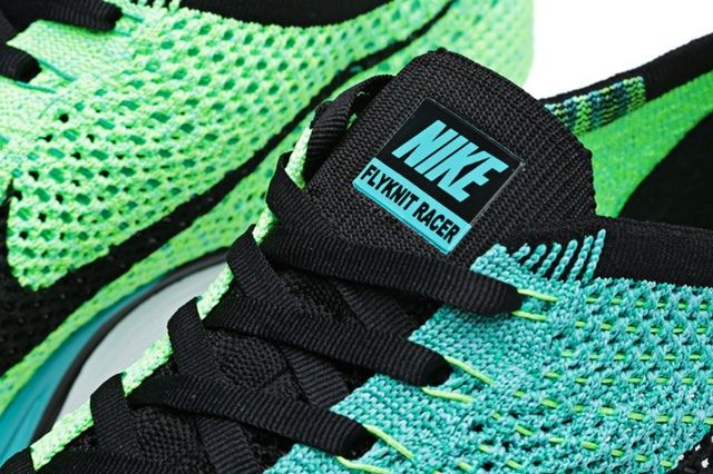 Nike Flyknit Racer Sport Turquoise 1
