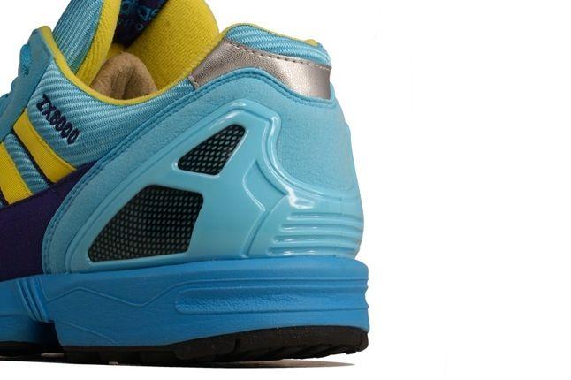 Adidas Zx 8000 Blue Yellow Heel Detail 1
