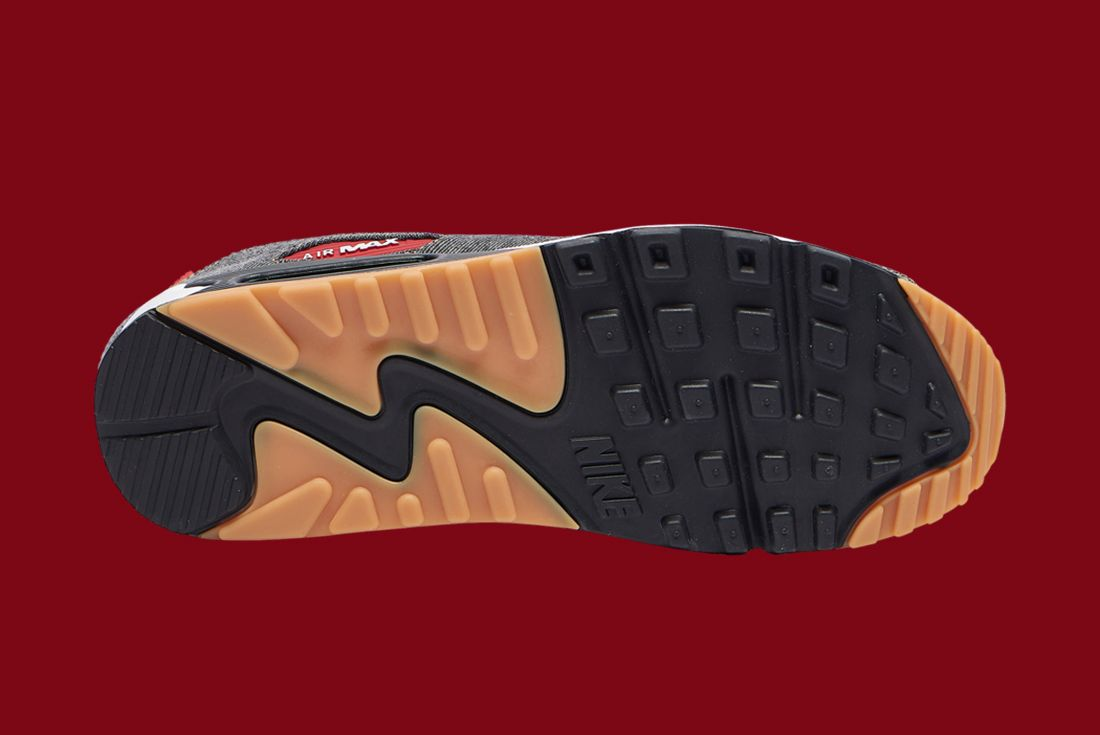 Nike Air Max 90 Denim Camo Sole