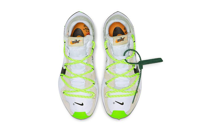 Off White Nike Zoom Terra Kiger 5 White Release Date Top Down