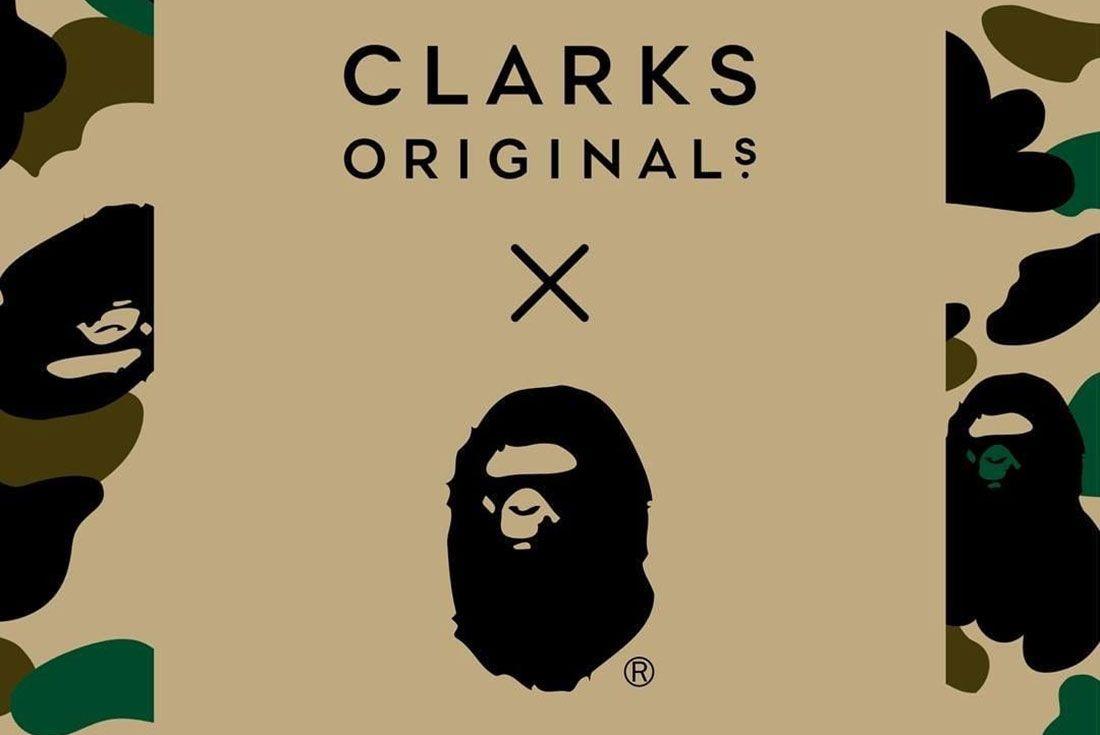 Bape Clarks Colab 2020