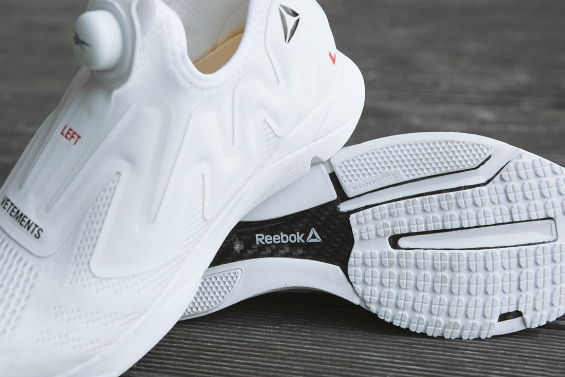 Vetements Reebok Pumps White 2