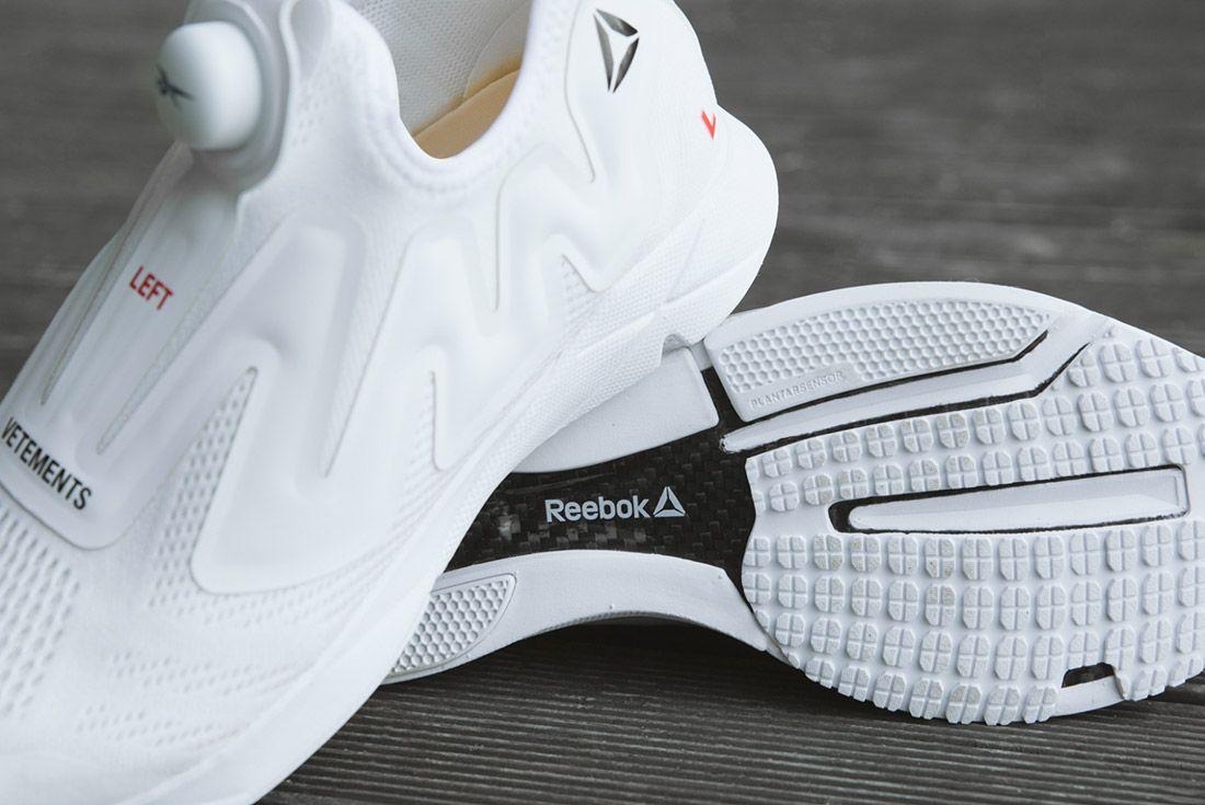 Vetements Reebok Pumps White 2