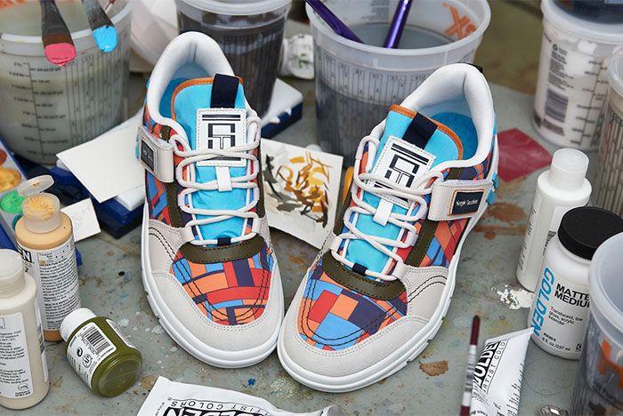 Adam Lister Sergio Tacchini Power Model Fall Winter 19 Sneaker Collaboration4