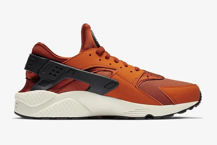 Nike Air Huarache Campfire Orange Medial