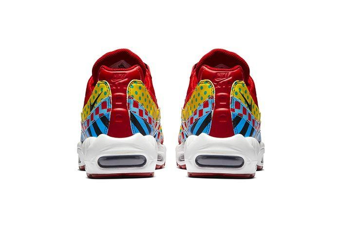 Air Max 95 Carnival Heel Shot