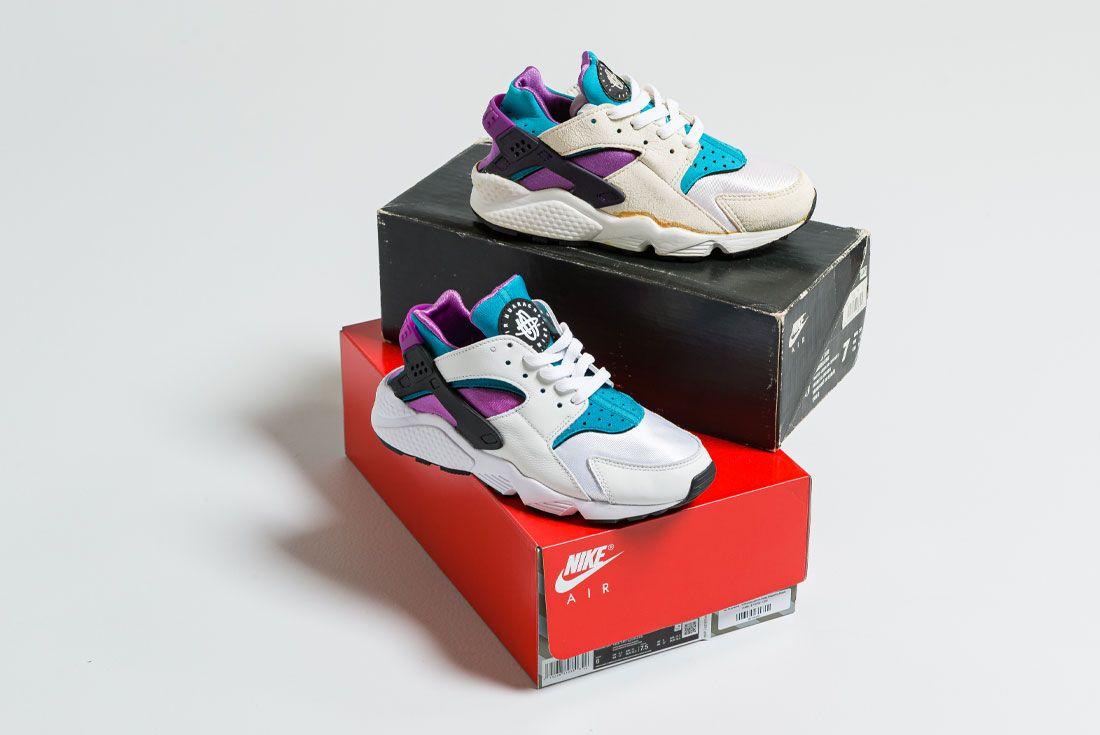 Nike Air Huarache Deep Magenta Aquatone 1992 2021