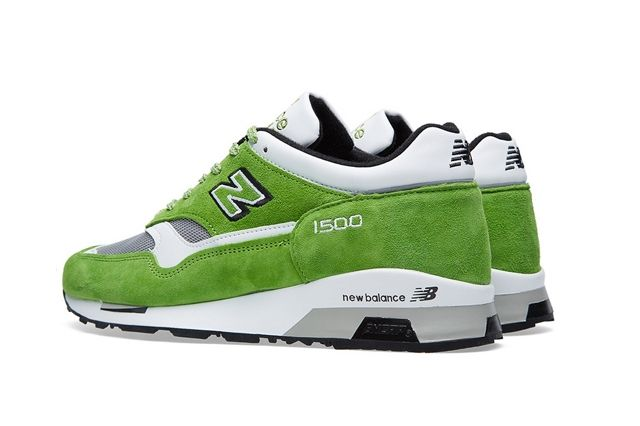 New Balance 1500 Made In Uk Lime Green 2