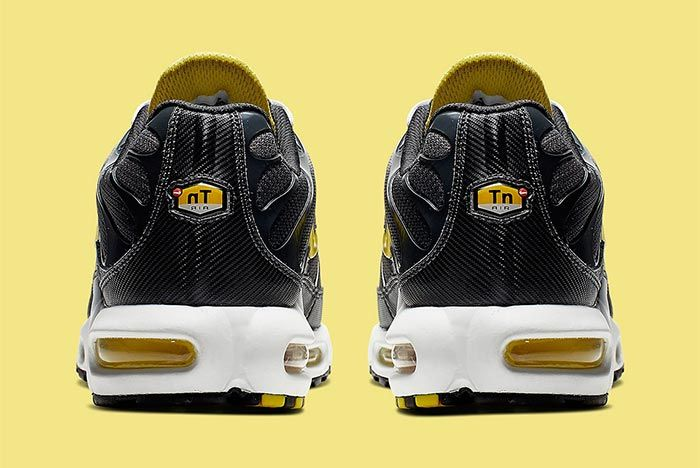 Nike Air Max Plus Bumblebee Heel Shot 3