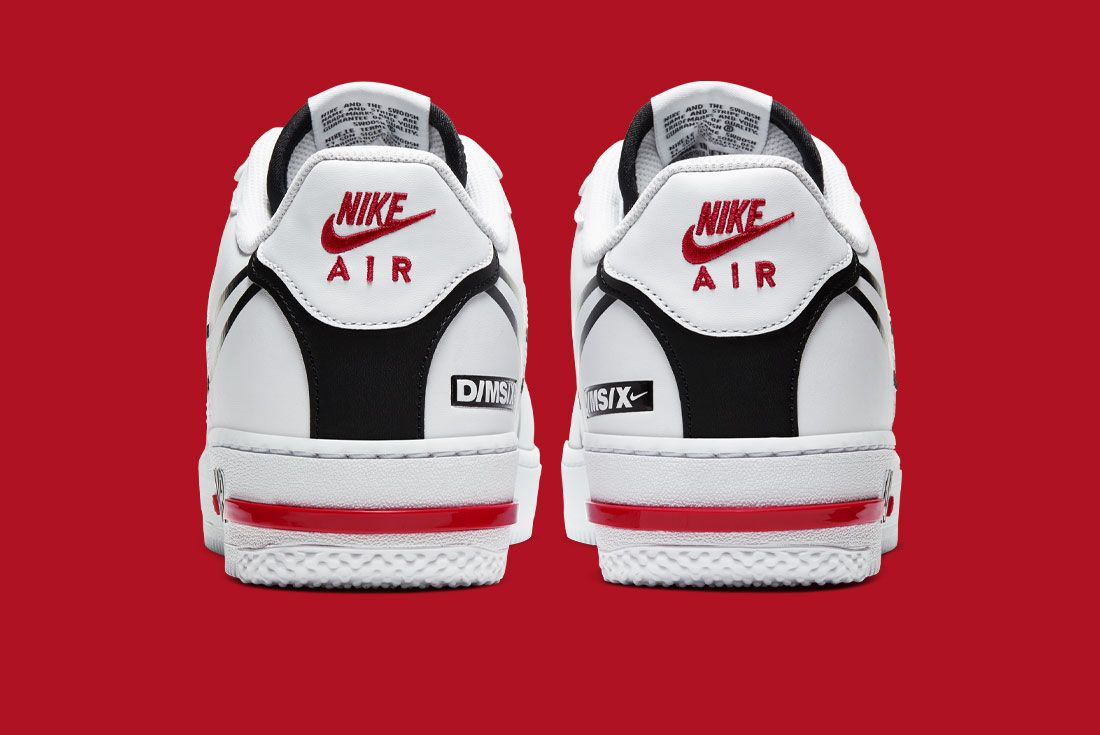 Nike Air Force 1 React Cd4366 100 Heel