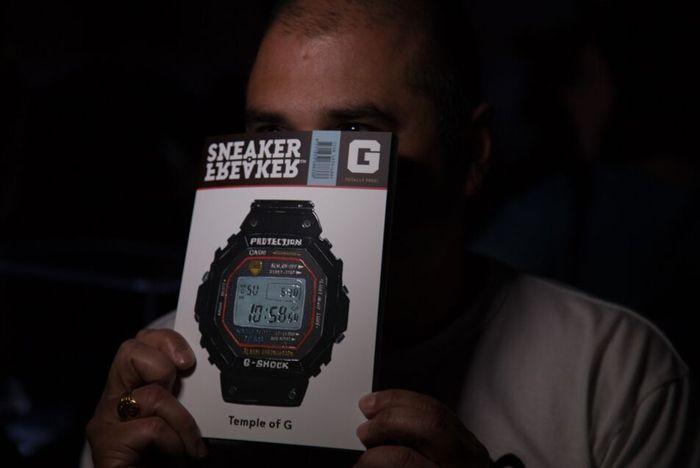 Sneaker Freaker G Shock Launch 6