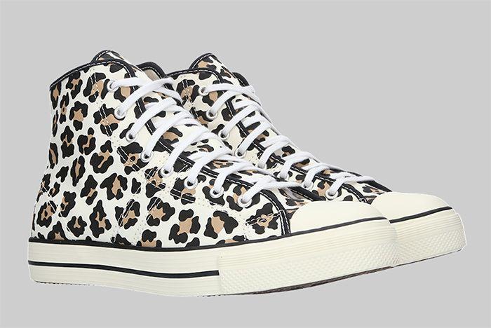 Converse Lucky Star High Leopard Quarter